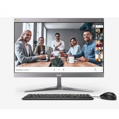 Presis Acer Chromebase for meetings 24V2 - in use